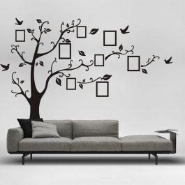 Samolepky na zeď strom s fotkami